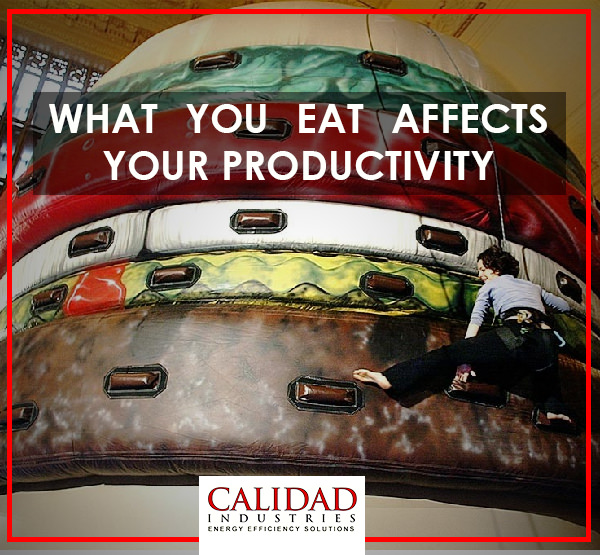 What You Eat Affects Your Productivity