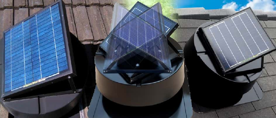 Do you have a hot home that relies heavily on air-conditioning throughout the summer months?Our Green Roof Vent Solar Attic Extraction Fan along with Under Eave vents may be the solution!Green Vent Solar Attic Extraction Fan